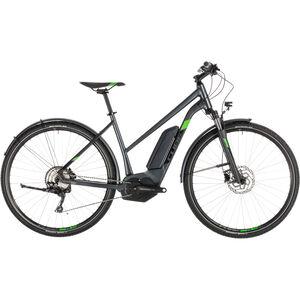 Cube Cross Hybrid Pro 400 Allroad Trapez Iridium'n'Green bei fahrrad.de Online