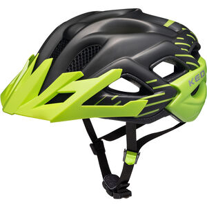 KED Status Jr. Helmet Kinder black green matt black green matt
