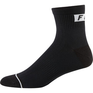 "Fox 4"" Trail Crew Socks Men black"