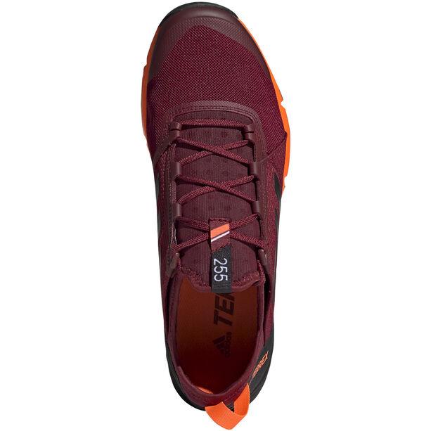 adidas TERREX Agravic Speed Shoes Herren collegiate burgundy/core black/solar orange