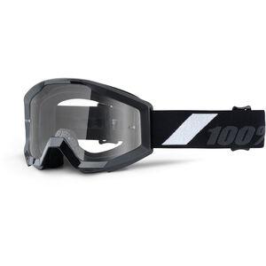 100% Strata Anti Fog Clear Goggles Youths goliath