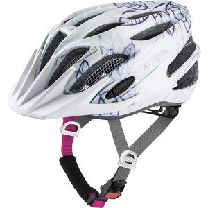Alpina FB 2.0 Flash Helmet Juniors white floral bei fahrrad.de Online
