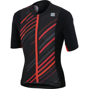 Sportful R&D Celsius Jersey Herren black/anthracite/red black/anthracite/red