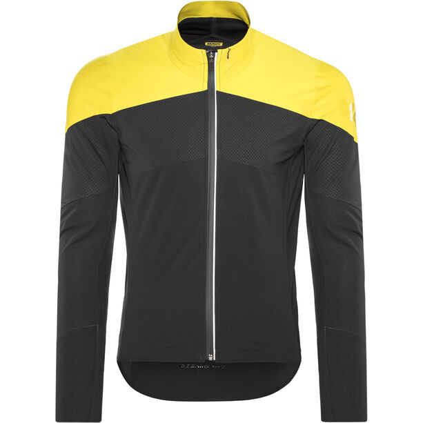 Mavic Cosmic Pro Softshell Jacket Herren black/yellow mavic