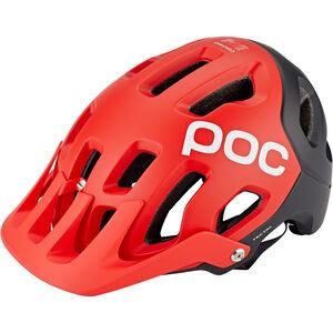 POC Tectal Helm prismane red prismane red