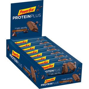 PowerBar ProteinPlus 30% Bar Box 15x55g Chocolate