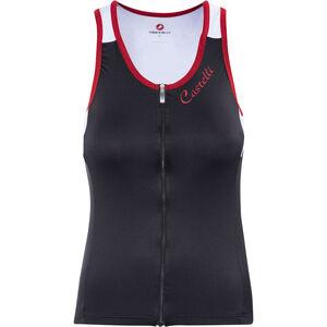 Castelli Solare Top Damen black/white/red black/white/red