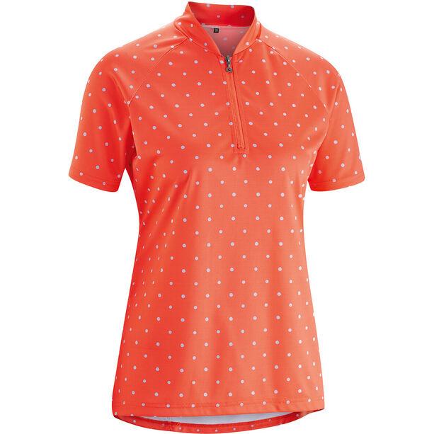 Gonso Marina Shirt Damen hot coral