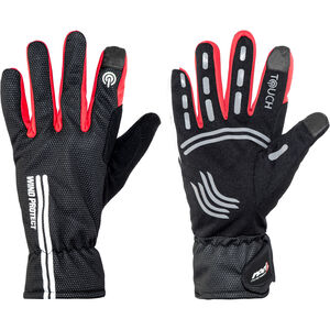 Red Cycling Products Windproof Race Bike Gloves black-red black-red