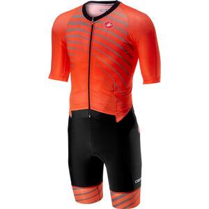 Castelli All Out Speed Suit Herren orange orange