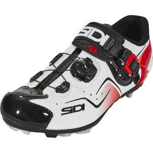 Sidi Cape Shoes Herren white/black/red white/black/red