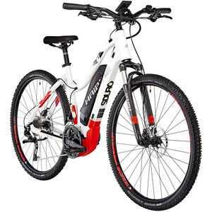 HAIBIKE SDURO Cross 6.0 Damen Weiß/Rot/Anthrazit bei fahrrad.de Online