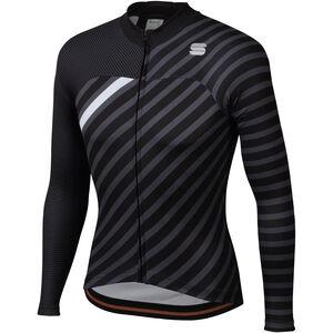 Sportful Bodyfit Team Langarm Winter Trikot Herren black/anthracite/white black/anthracite/white