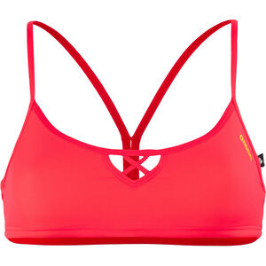 arena Be Bandeau Top Women fluo red-yellow star
