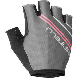 Castelli Dolcissima 2 Gloves Damen dark grey/giro pink dark grey/giro pink