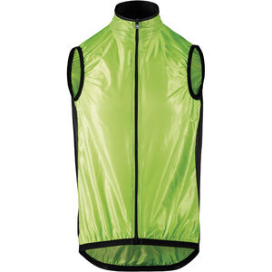 assos Mille GT Wind Vest visibility green visibility green