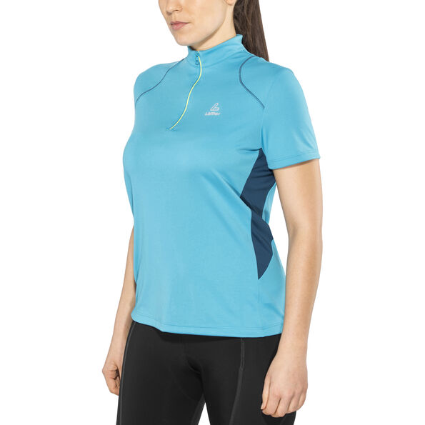Löffler Pura Bike Shirt Half-Zip Damen