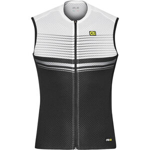 Alé Cycling Graphics PRR Slide Sleeveless Jersey Herren black-white black-white