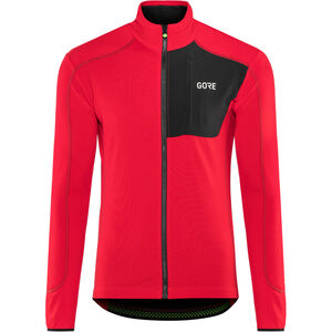 GORE WEAR C5 Thermo Trail Jersey Herren red/black red/black