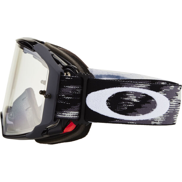 Oakley Airbrake MX Brille jet black speed/clear