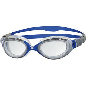 Zoggs Predator Flex Goggles silver/blue/clear silver/blue/clear