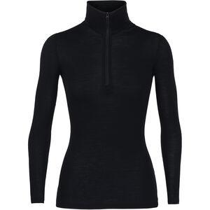 Icebreaker 175 Everyday LS Half Zip Shirt Women Black
