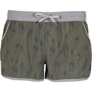 United By Blue Painted Pines Boardshorts Damen olive olive