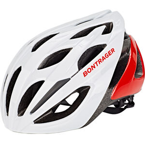 Bontrager Starvos Road Bike Helmet trek white/viper red trek white/viper red