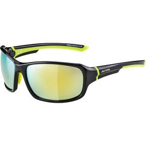 Alpina Lyron Glasses black-neon yellow