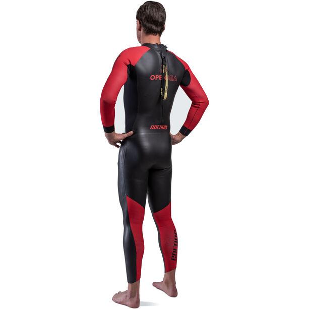 Colting Wetsuits Open Sea Wetsuit Herren black/red