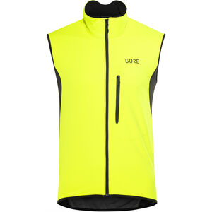 GORE WEAR C3 Windstopper Vest Men neon yellow/black bei fahrrad.de Online