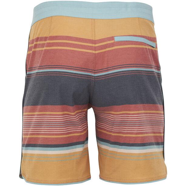 United By Blue Seabed Scallop Boardshorts Herren canyon orange canyon orange