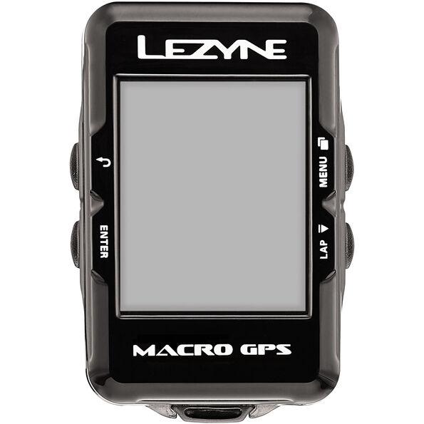 Lezyne Macro GPS Fahrradcomputer mit Herzfrequenzmessgerät