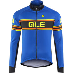 Alé Cycling Solid Vetta Jacket Men blue-fluo yellow