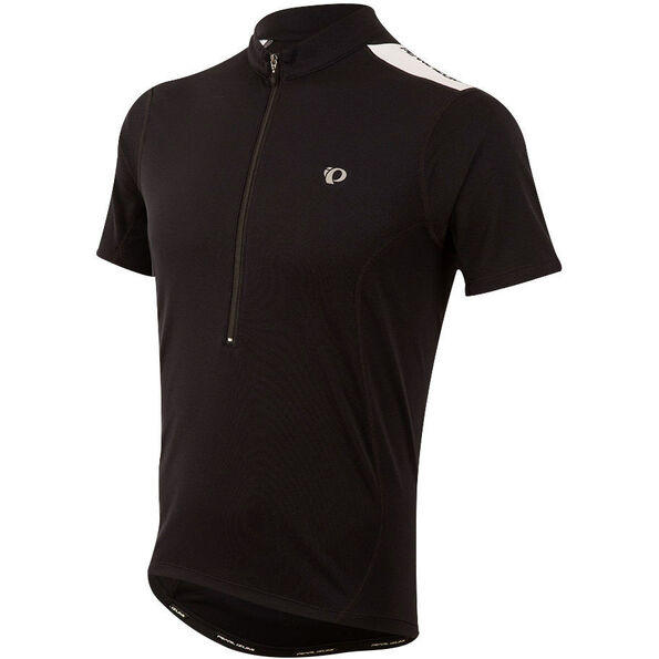 PEARL iZUMi Select Quest Shortsleeve Jersey black/black