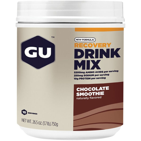 GU Energy Recovery Drink Mix Dose 750g Chocolate Smoothie
