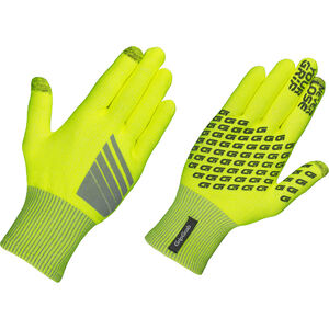 GripGrab Primavera Hi-Vis Midseason Gloves fluo yellow fluo yellow
