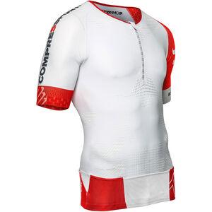 Compressport TR3 Aero Triathlon Top white white