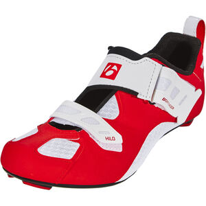 Bontrager Hilo Triathlon Shoes Herren red/white red/white