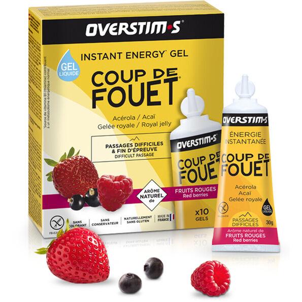 OVERSTIM.s Coup de Fouet Liquid Gel Box 10x30g Red Berries