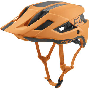 Fox Flux Rush Trail Helmet Herren atomic orange atomic orange