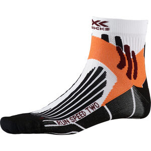 X-Socks Run Speed Two Socks Herren arctic white/opal black arctic white/opal black