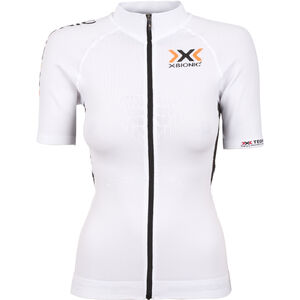 X-Bionic The Trick Fahrrad Trikot SS Full-Zip Damen white/black white/black
