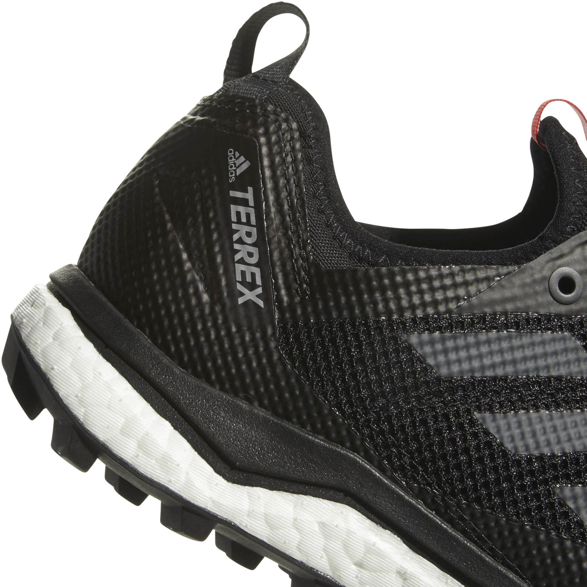 adidas Terrex Agravic XT GTX Trailrunningschuhe Core Black Grey Five Hi Res Red | 7 (UK)