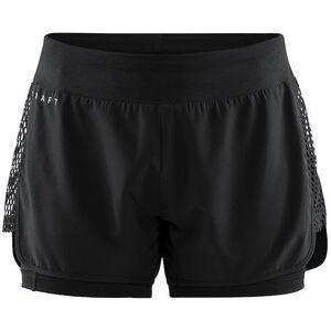 Craft Charge 2-in-1 Shorts Damen black black