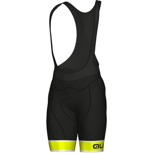 Alé Cycling Graphics PRR Sella Bibshorts Men fluo yellow-black bei fahrrad.de Online