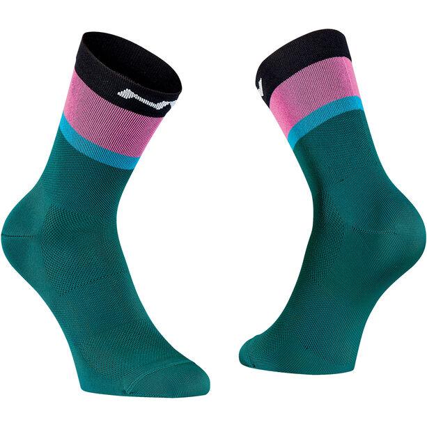 Northwave Fresh Socken Herren azure/black