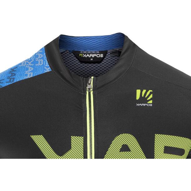 Karpos Jump Jersey Herren bluette/black/yellow fluo