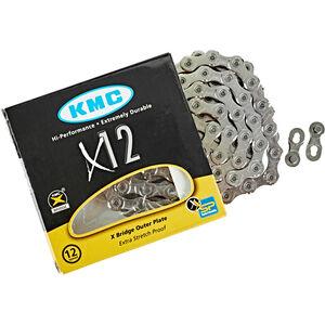 KMC X12 Kette 12-fach silber