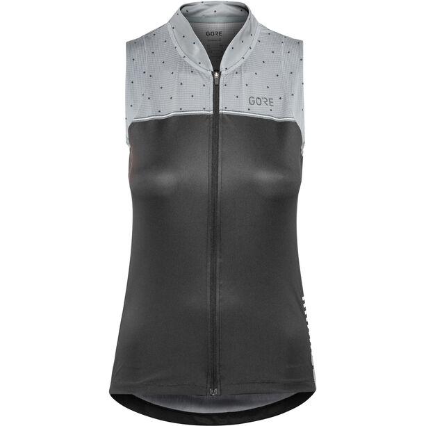 GORE WEAR C5 Sleeveless Jersey Damen black/nordic blue